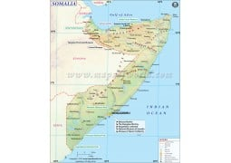 Somalia Map - Digital File