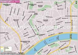 Stadtplan Frankfurt - Digital File