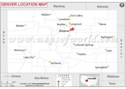 Denver Location Map