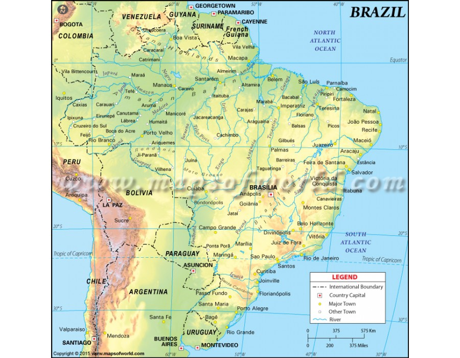 a geography of brazil Geography term papers (paper 2840) on brazil: brazil the name brazil comes from pau brasil there are around 145 million people living in brazil, most o.