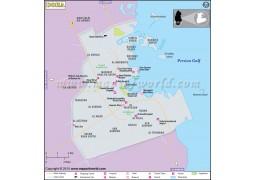 Doha Map - Digital File