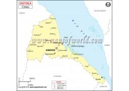 Eritrea Major Cities - Digital File