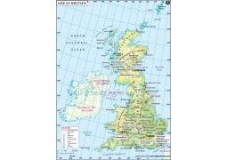 Great Britain Country Map - Digital File