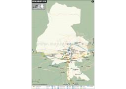 Innsbruck City Map - Digital File