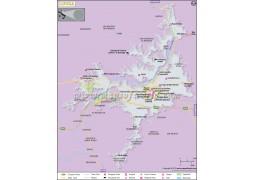Lucca City Map - Digital File