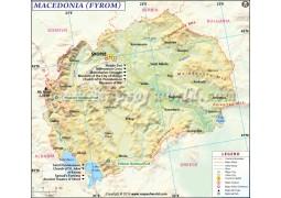 Macedonia Map - Digital File