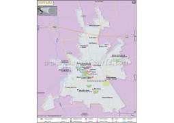 Novara City Map - Digital File