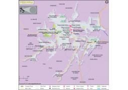 Perugia City Map - Digital File