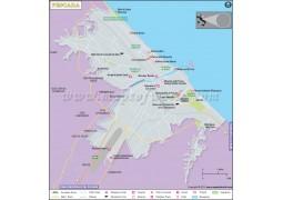 Pescara City Map - Digital File