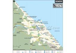 Rimini City Map - Digital File