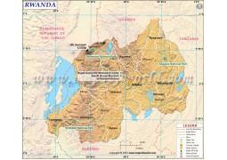 Rwanda Map - Digital File