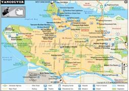 Vancouver Map - Digital File