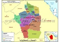 Ar riyad Map - Digital File