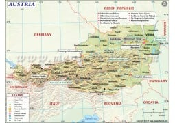 Austria Map - Digital File