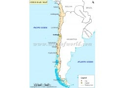 Chile Rail Map - Digital File