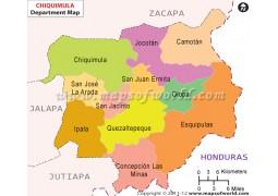 Chiquimula Map - Digital File