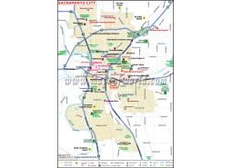 Sacramento City Map