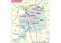 Sacramento County Map