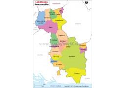 San Miguel Map - Digital File