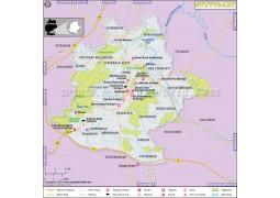 Stuttgart Map - Digital File