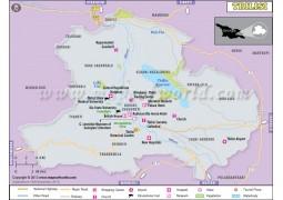 Tbilisi Map - Digital File