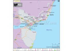 Varna City Map - Digital File