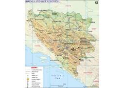 Bosnia Map