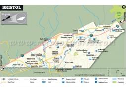 Bristol Map - Digital File
