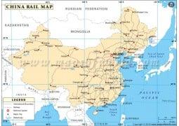 China Rail Map