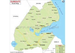 Djibouti Road Map