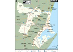Durban City Map