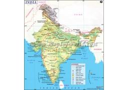 Digital Map of India