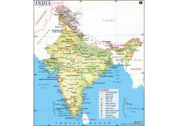 Digital Map of India - Digital File
