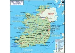 Ireland Map - Digital File