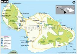 Maui City Map