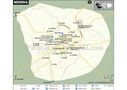 Medina City Map