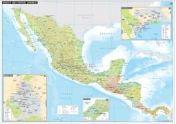 Mexico and Central America - Digital File
