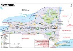 New York Map - Digital File