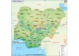 Nigeria Map - Digital File