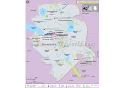 Yekaterinburg City Map