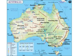 Australia Map - Digital File