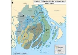 Barisal Division Map