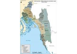 Chittagong Division Map