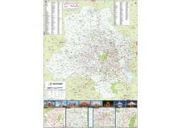Delhi Large Map - Digital File