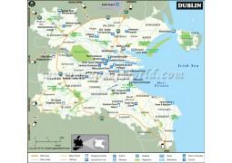 Dublin City Map - Digital File