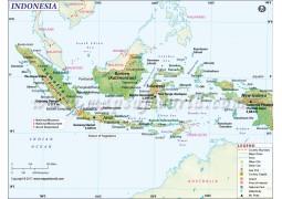 Indonesia Map - Digital File
