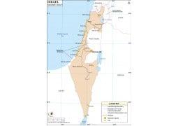 Israel Rail Map - Digital File