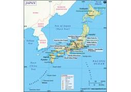 Japan Map - Digital File