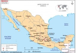 Mexico Rail Map - Digital File