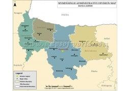 Mymensingh Division Map - Digital File